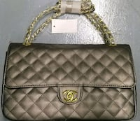 quilted brown leather crossbody bag 910 mi