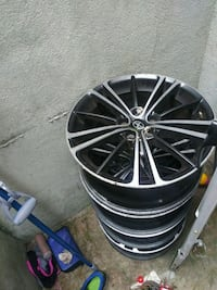 black and gray auto rims Brentwood, 11717