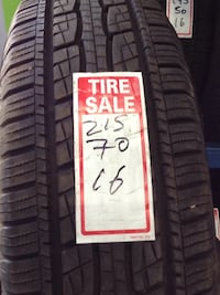 Beautiful set of used General Grabber HTS Tires 215/70/16 Toronto, M1P 2B3