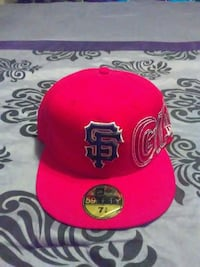 red and black San Francisco Giants embroidered fit Smyrna, 30080