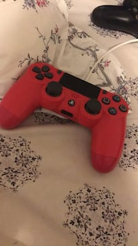 red and black Sony PS4 controller Toronto