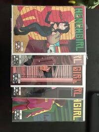 Henchgirl 1 - 5 all signed NM near mint OBO Mississauga, L5W 1X7