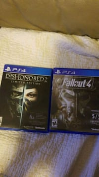 Dishonored 2 and Fallout 4 Red Wing, 55066
