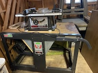 "Craftsman rotaty tool bench, skill saw, 10"" bandsaw included. Leominster, 01453"