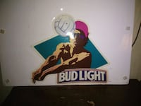 multicolored Bud Light poster Oconto, 54153