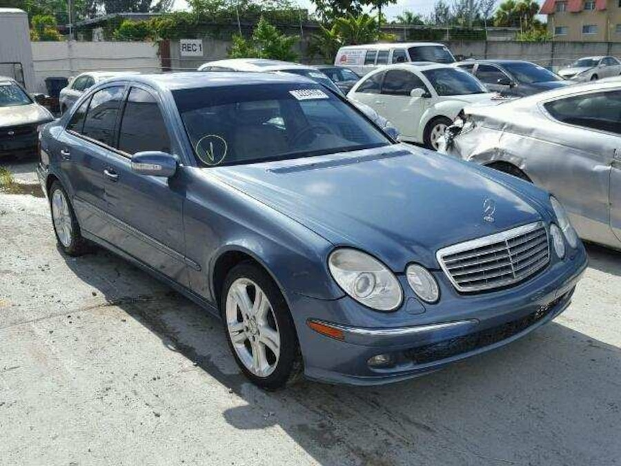 used 06 grey e350 mercedes benz in los angeles