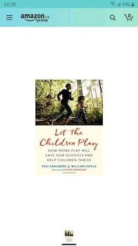 Let The Children Play: Why More Play Will Save Schools - Help Children Vaughan, L4J 4Y8