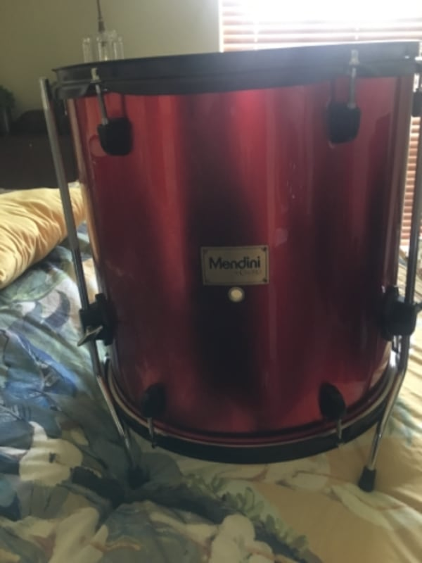 Three Mendini drums 344fa6bb-061f-41a7-9946-579b3b3fae83