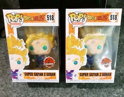 Super Saiyan 2 Gohan DBZ Funko Pop Eb Games Exclus