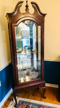 Light Curio Cabinet Reston, 20191