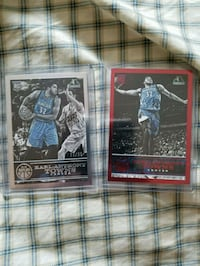 two Karl-Anthony Towns trading cards Caledon, L7E 1J6