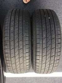 2 tires 225/65r17 like new $60 Sterling, 20166
