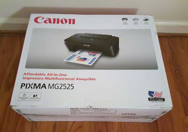 Canon Pixma Mg2525 Photo All In One Inkjet Printer