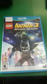 Xbox 360 Lego Batman 3 game case 610 km