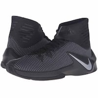 Nike Men's Zoom Clear Out Basketball Shoes - Black( [TL_HIDDEN] ) CALGARY