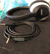 Black and silver bose headphones... Weymouth, 02191