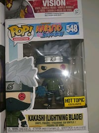 Kakashi Lightning Blade Hot Topic Funko Pop 548 Gainesville, 20155