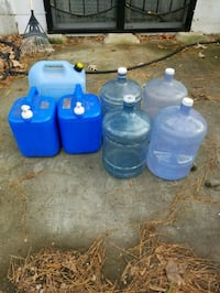 7 Water Storage  Containers