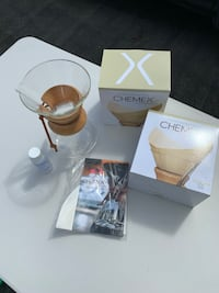 New Chemex with 2X 100 filter box Richmond Hill, L4E