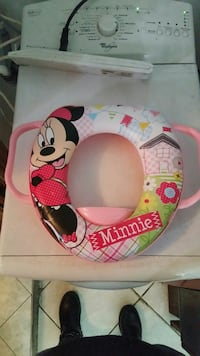 Comino con mouse Minnie bianco