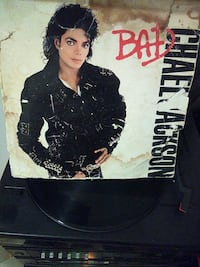 Michael Jackson Bad vinyl album Chicago, 60628