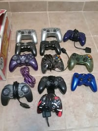 PS2 Xbox Wired & Wireless Controllers Bakersfield