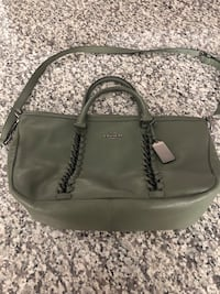 Coach whip stitching leather convertible handbag Odenton, 21113