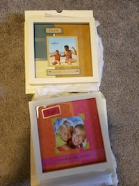 Aunt and uncle pic frames. New in box.  Edmonton, T5Y 1X4