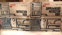 Genie Knitting Machine CH-1500 Instruction Books Tucson, 85711