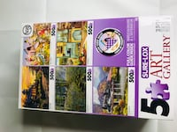 FIVE PUZZLES IN A BOX Houston, 77084