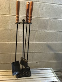 Fireplace Tools and stand  75 mi