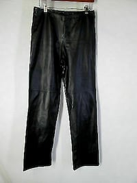 Brand new Danier Leather pants, size 10, never worn, raw seam (unheamed), inseam approx. 33 inches. Super soft!!!