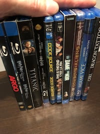 10 Blue rays (some brand new)  Richmond Hill, L4E 4C9