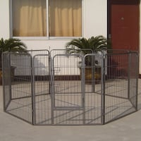 "Heavy Duty 40"" Metal Playpen 8 Panel System Versatile South El Monte, 91733"