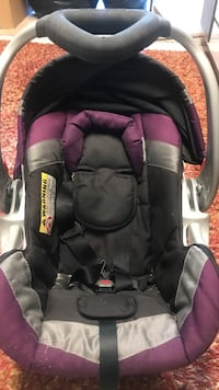 baby's black and purple car seat carrier Renton, 98056