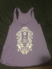purple and white floral tank top Nanaimo, V9R 3K1