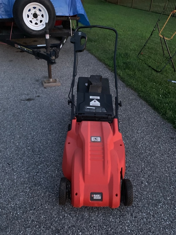 Black and decker electric lawn mower 0