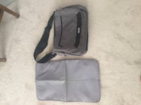 Diaper Bag with Change Pad Lots of pockets and zippers. EUC Brantford, N3T 5L5