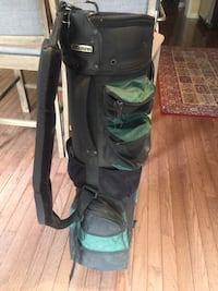 Black and green golf bag Mississauga, L5N 8H4