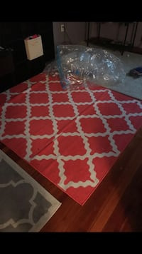 red and white area rug Hanover Township, 18706