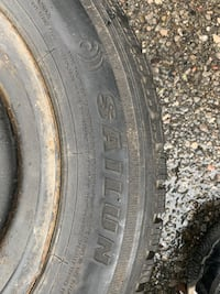 Four Ice blazer winter tires 185/65R15 with rims(pick up only)