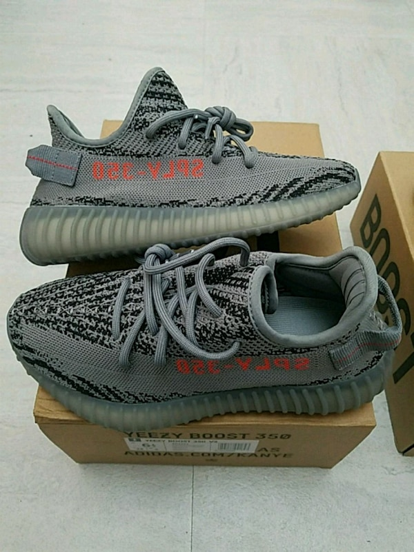 1da9a4a72 Used pair of beluga Adidas Yeezy Boost 350 V2 on box for sale in New York -  letgo