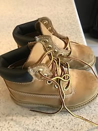 Timberlands for toddler size 8