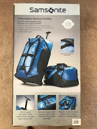 Samsonite 2-Piece Duffel Set. Used on only 2 or 3 short trips. Salinas, 93906