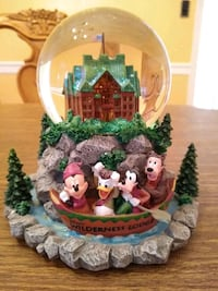 Disney Wilderness Lodge Snow Globe