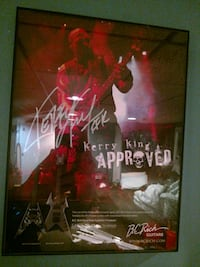 Kerry King from Slayer signed photo Troy, 48098