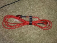 New type c extra long phone charger cord usb red Tullahoma