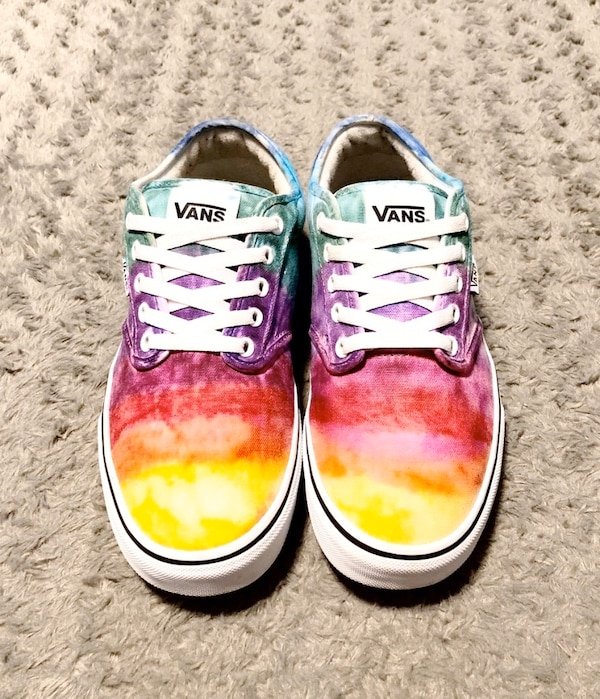 Vans Rainbow Tie Dye shoes paid $80 Size 9.5 Like new! Women's size 11 2344e067-3e2d-4919-a0a3-663092cf6ad6