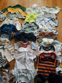 toddler's assorted clothes 791 km