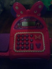 pink and purple Minnie Mouse cash register Bronx, 10455